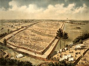 Andersonville Prison, Georgia by J.W. Morton, Jr.