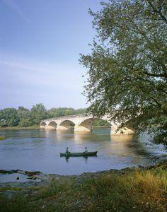 Juniata River Crossing, Pennsylvania, Appalachian Trail by Carol Highsmith
