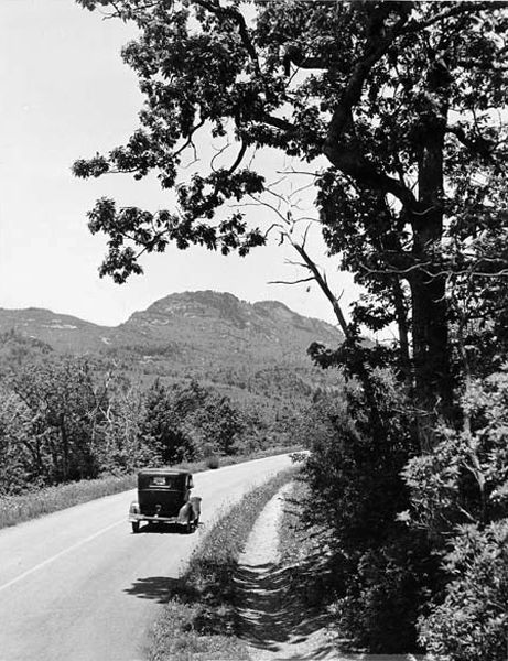 Blue Ridge Parkway in its Early Days