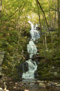 Buttermilk Falls, Delaware Water Gap National Recreation Area, New Jersey
