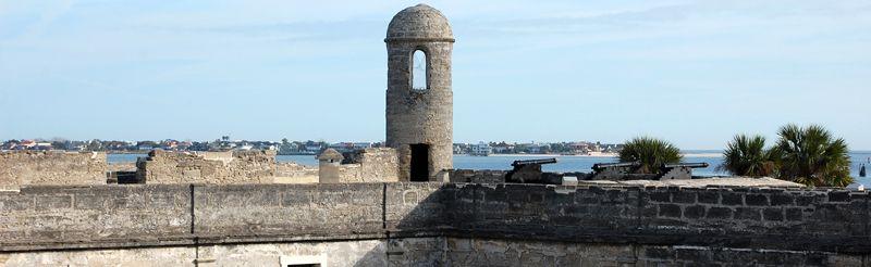 Castillo San Marcus, St. Augustine, Florida by Dave Alexander