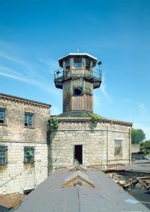 Watch Tower at Eastern State Penitentiary by the Historic American Buildings Survey