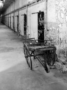 Cellblock 4 of Eastern State Penitentiary by the Historic American Buildings Survey