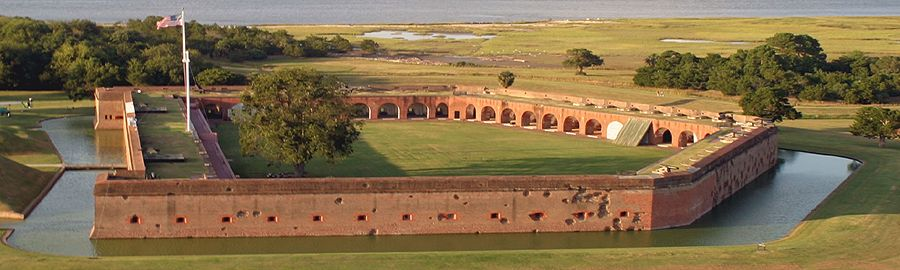 Fort Pulaski, Georgia by the National Park Service