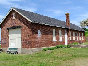 Fort Stark Ordnance Building Museum, New Castle, New Hampshire, photo by Carol White, courtesy Fort Wiki