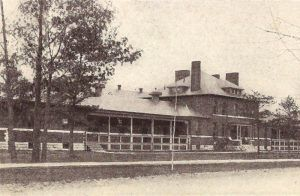 The old Fort Ethan Allen Hospital now serves as a Nursing Home.
