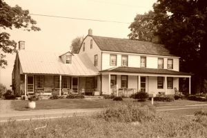 Foster-Armstrong Farm on the Old Mine Road, Montague, New Jersey