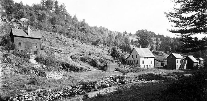 Fox Gold Mine Operations, Vermont