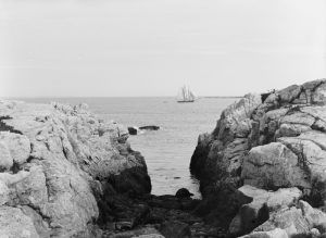 Gorge at Appledore, Isles of Shoals, Maine by Detroit Publishing, 1900