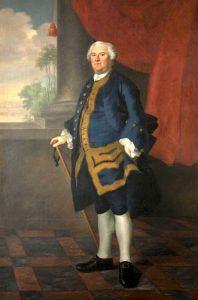 Governor Benning Wentworth by Joseph Blackburn, 1759