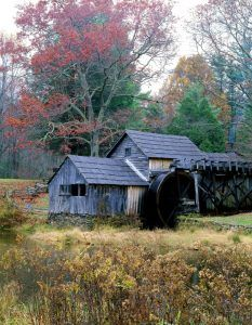 Mabry Mill on the Blue Ridge Parkway and Appalachian Trail in Virginia by Carol Highsmith