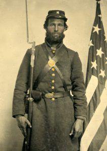 Civil War Soldier from Maine