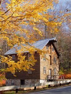 The present-day gristmill in Millbrook, New Jersey was built on the site of Abram Garis' 1832 grist mill. Photo courtesy State of New Jersey