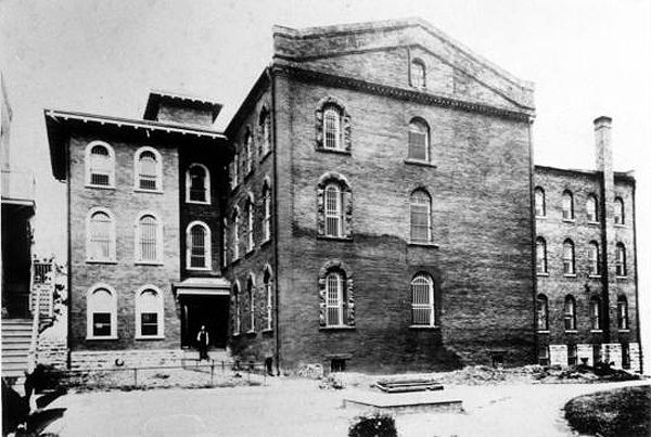 Missouri State Penitentiary in its early days.