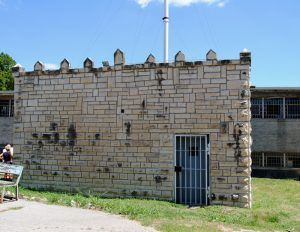 Gas Chamber Building at the Missouri State Penitentiary, by Kathy Weiser-Alexander