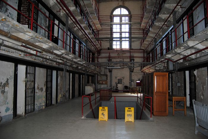 A-Hall at the Missouri State Penitentiary is the oldest building in the complex