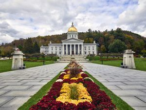 Vermont State Capitol at Montpelier by Carol Highsmith.