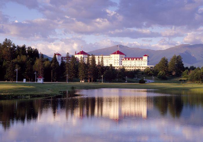 Mount Washington Hotel, Bretton Woods, New Hampshire by Carol Highsmith