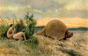 Paleo Indians by Heinrich Harder 1919