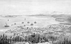 Port Townsend, Washington by E.S. Glover, 1878