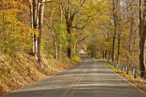 River Road between Shawnee & Bushkill, Pennsylvania by the National Park Service
