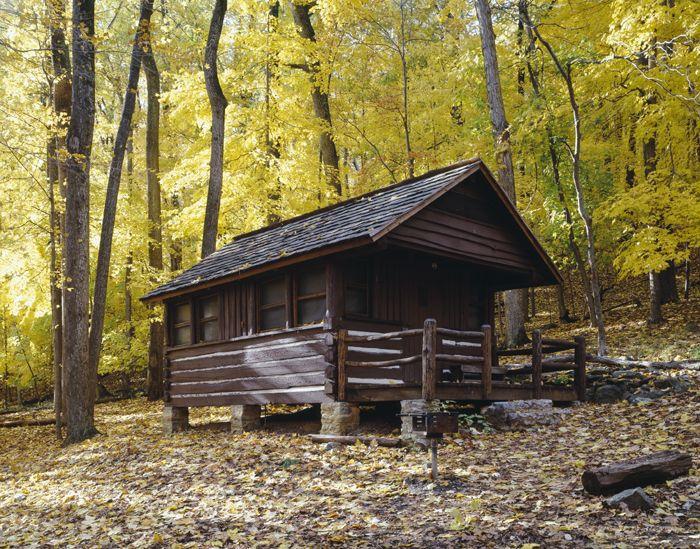 Shelter Along the Appalachian Trail by Carol Highsmith.