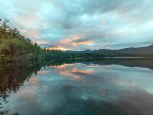 Sunset over Chocoura Lake in Moultonborough, New Hampshire. Photo by Carol Higshmith
