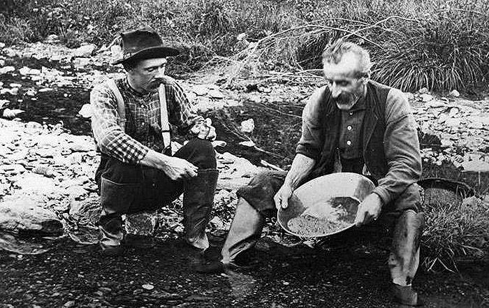 Vermont Miners by E.G. Davis, Plymouth Historical Society