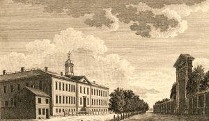 Walnut Street Jail in Philadelphia, Pennsylvania, 1789
