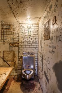 West Virginia Penitentiary Cell, by Carol Highsmith