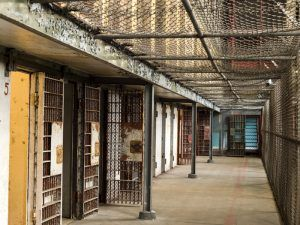 West Virginia Penitentiary Cellblock by Carol Highsmith