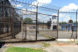 West Virginia Penitentiary Excercise Yard by Carol Highsmith