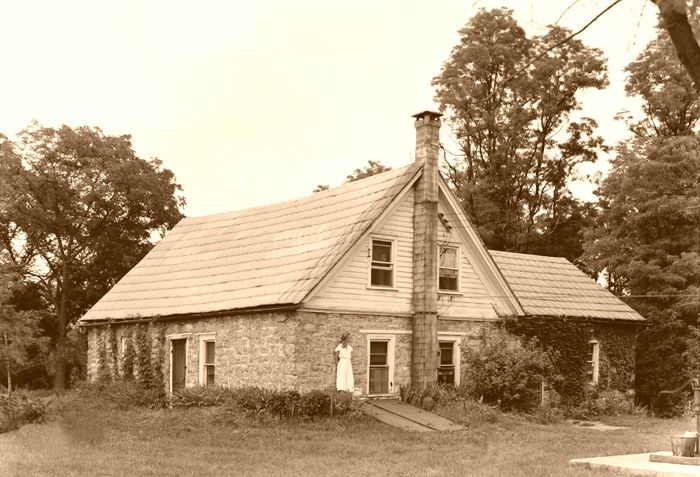 Westbrook-Bell House, Old Mine Road, Hainesville, New Jersey