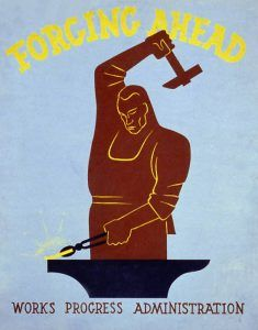 Works Progress Administration Poster
