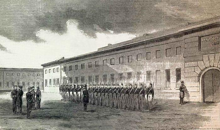 Fort Warren, Massachusetts during the Civil War