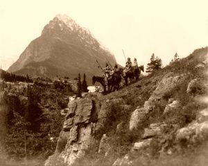 Blackfoot Warriors by Noland Reed, 1912