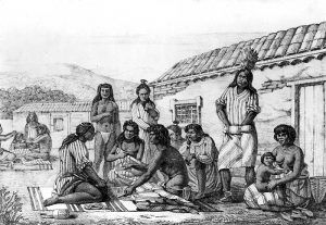 California Mission Indians by Louis Choris, 1822