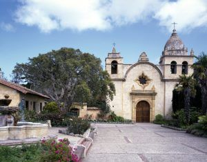 Carmel Mission Basilica, Carmel, California by Carol Highsmith.