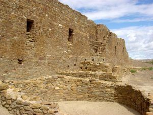 Pueblo del Arroyo at Chaco Canyon, New Mexico by the National Park Service