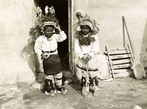 Cochiti Pueblo Boys by the Detroit Photo Co, about 1900