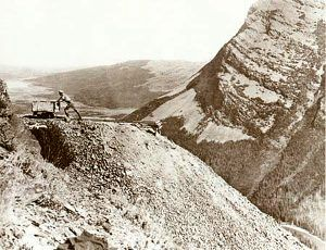 Early mining in what would become Glacier National Park