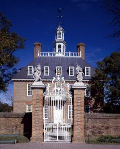 Governors Palace in Williamsburg, Virginia by Carol Highsmith.