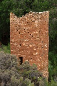 Hovenweep Square Tower, Utah, National Park Service