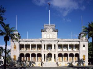 Iolani Palace, Honolulu, Hawaii by Carol Highsmith