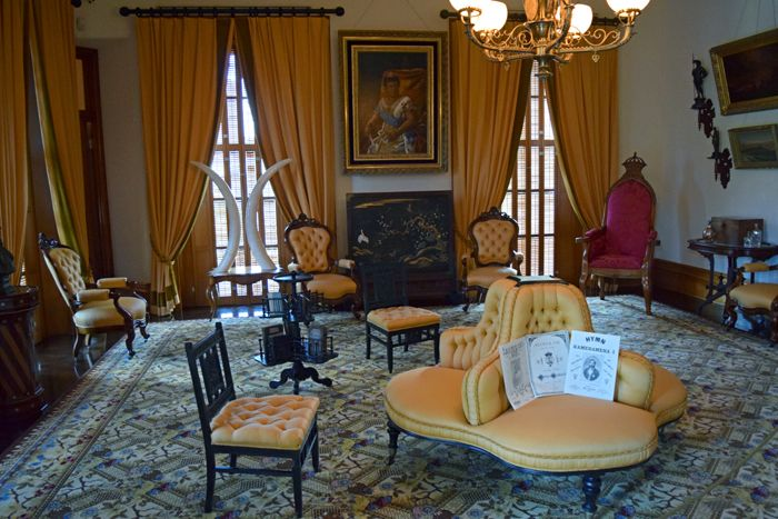 Queen Liliuokalani Palace Inside Iolani Palace, ...