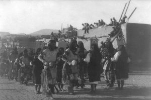 Jemez Pueblo Feast Day, by Simeon Schwemberger 1908.