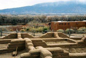 Kuaua Ruins, Bernalillo, New Mexico, courtesy New Mexico Historic Sites