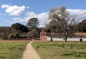 La Purisima Mission, Lompoc, California by Carol Highsmith