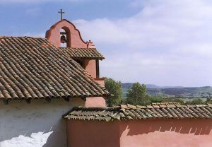 La Purisima Mission, Lompoc, California courtesy Wikipedia