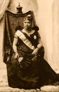 Queen Liliuokalani of Hawaii, 1891